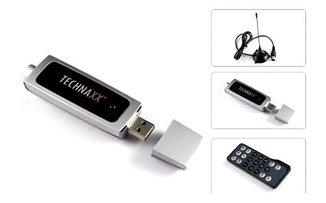 TV tuner Technaxx DVB-T Stick S4 (DVBS4)