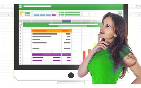 Online kurzy Excelu s neomezeným přístupem
