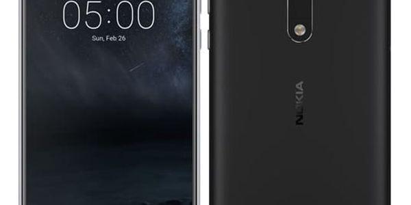 Mobilní telefon Nokia 5 Single SIM (11ND1B01A12) černý Software F-Secure SAFE, 3 zařízení / 6 měsíců v hodnotě 979 Kč + DOPRAVA ZDARMA