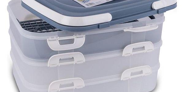 Orion Přenosný box na potraviny 3 patra 1239492