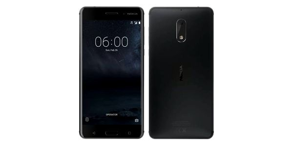 Mobilní telefon Nokia 6 Dual SIM (11PLEB01A11) černý + Doprava zdarma