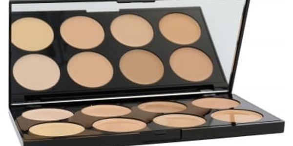 Makeup Revolution London Ultra Cover And Conceal Palette 10 g korektor pro ženy Light