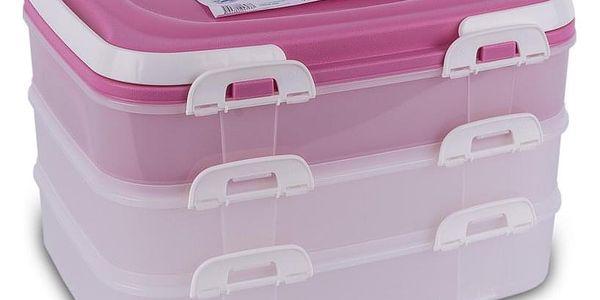 Orion Přenosný box na potraviny 3 patra 1239495