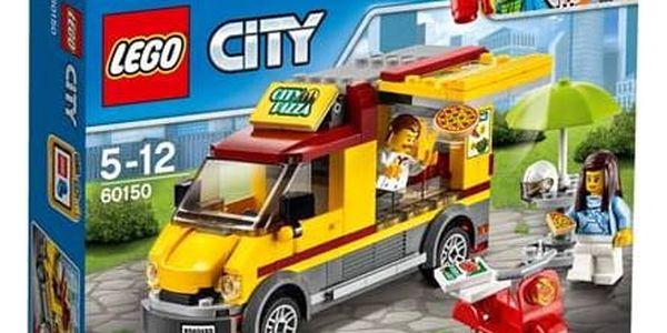 Stavebnice LEGO® CITY® Great Vehicles 60150 Dodávka s pizzou
