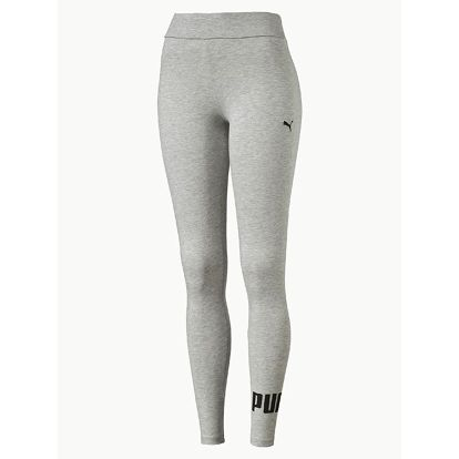 Legíny Puma Ess No.1 Leggings W Light Gray Heather Šedá