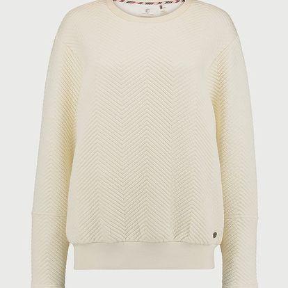 Mikina O´Neill LW Quilted Sweatshirt Béžová