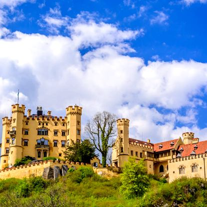 Výlet na zámek Neuschwanstein a za dalšími krásami Bavorska