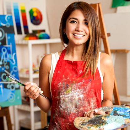 Naučte se malovat: online kurz olejomalby
