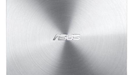 Externí DVD vypalovačka Asus SDRW-08U5S-U slim (90DD0112-M20000) stříbrná