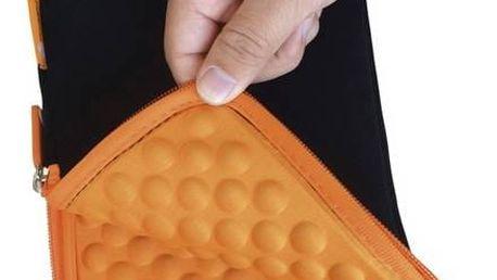 """Pouzdro na tablet GoGEN TA7CASEO pro 7"""" s bublinkami (GOGTA7CASEO) černé/oranžové"""