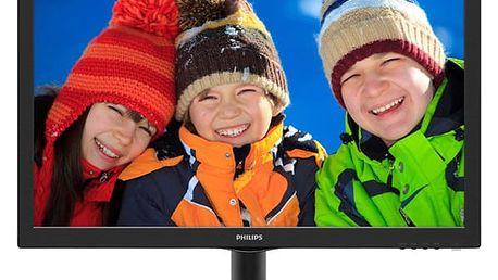Monitor Philips 223V5LHSB2 (223V5LHSB2/00) černý Software F-Secure SAFE 6 měsíců pro 3 zařízení v hodnotě 979 Kč