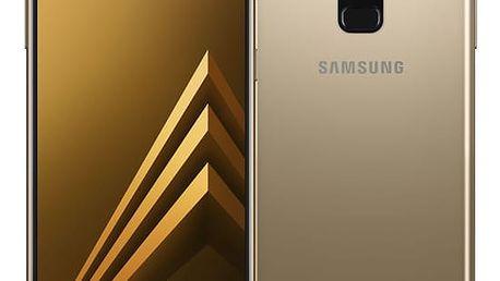 Mobilní telefon Samsung A8 Dual SIM - Gold (SM-A530FZDDXEZ) Software F-Secure SAFE 6 měsíců pro 3 zařízení v hodnotě 979 Kč + DOPRAVA ZDARMA