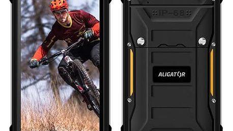 Mobilní telefon Aligator RX510 eXtremo (ARX510B) černý + Doprava zdarma