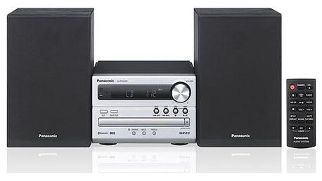 Mikrosystém Panasonic SC-PM250EC-S stříbrný + DOPRAVA ZDARMA