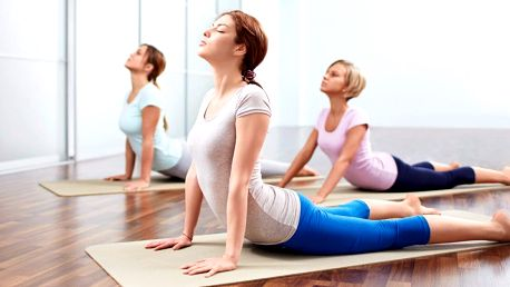 Vstupy na jógu pro ženy či na power jógu