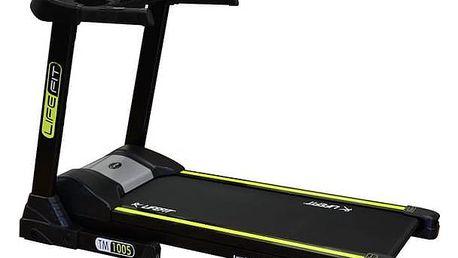 Běžecký pás LIFEFIT TM-1005 Posilovač břišních svalů Lifefit AB EFFECT - zelená (zdarma) + Doprava zdarma