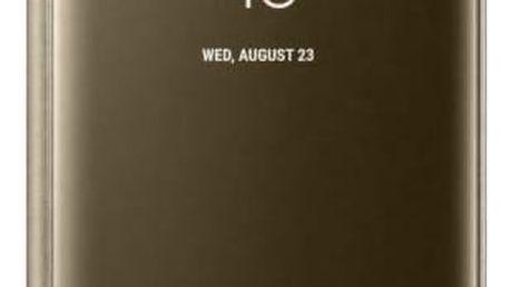 Pouzdro na mobil flipové Samsung Clear View pro Galaxy Note 8 (EF-ZN950CFEGWW) zlaté