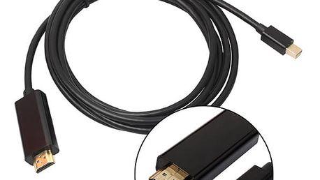 Kabel Unitek Mini DisplayPort / HDMI, 1,8m (Y-6357) černý