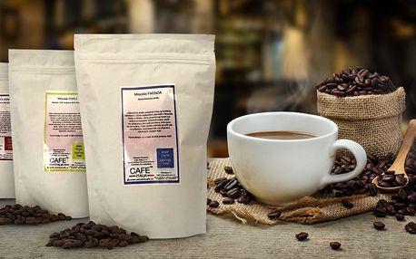 Prémiové italské zrnkové kávy Café Italia