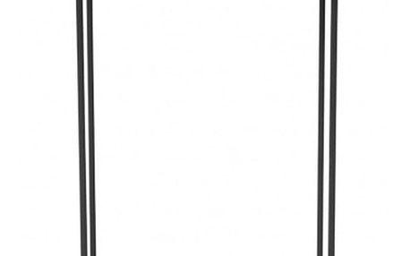 Černý malý odkládací stolek NORR11 Duke - doprava zdarma!