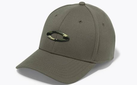 Kšiltovka Oakley Tincan Cap Worn Olive/Graphic Camo Barevná