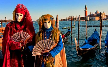 Itálie, Benátky, autobusem na 3 dny