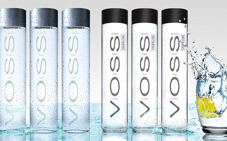 Artézská voda VOSS: poklad v designové lahvi