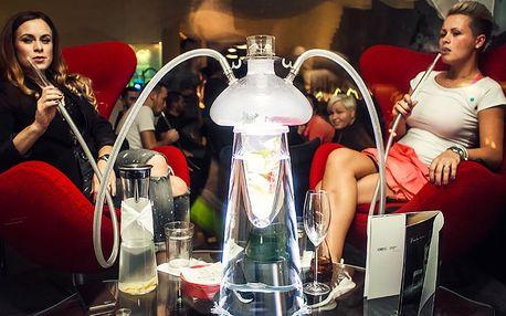 Exkluzivní vodní dýmka s luxusním drinkem pro 2