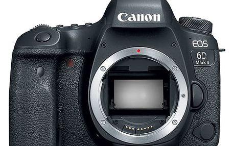 Digitální fotoaparát Canon EOS 6D Mark II (1897C003) černý + DOPRAVA ZDARMA