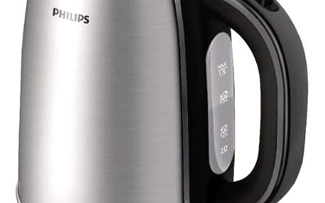 Rychlovarná konvice Philips HD9321/20 stříbrná + Doprava zdarma