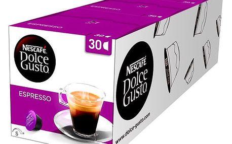 Set (3x Kapsle pro espressa Nescafé Dolce Gusto Espresso 30 ks)