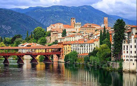 Pobyt v komfortním 4* hotelu v historickém Bassano del Grappa na úpatí Alp