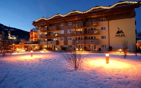 Itálie, Dolomiti Superski, vlastní dopravou na 5 dní bez stravy