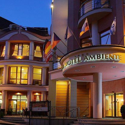 Hotel Ambiente **** v Karlových Varech s wellness, masáží a polopenzí