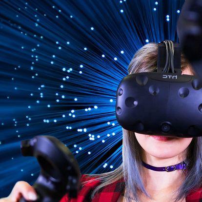Virtuální realita na 360° plošině i s HTC Vive