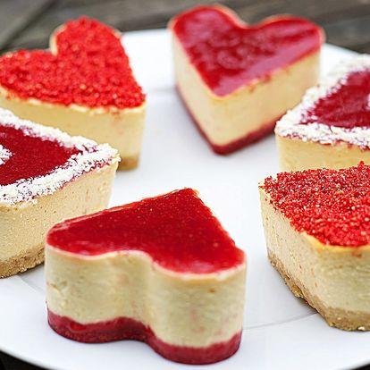 Láska je sladká: set domácích mini cheesecaků