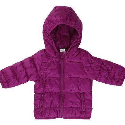 JACKY Zimní bunda OUTDOOR, vel. 86- malinová, Holky