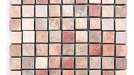 Divero Garth 1637 Mramorová mozaika - červená 1 m2