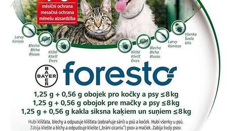 Obojek Bayer Foresto 38 cm pro kočky a malé psy