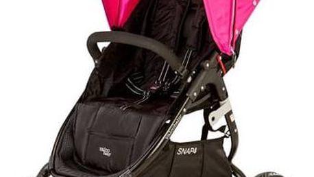 Kočárek sportovní Valco SNAP 4 černý/růžový + Doprava zdarma