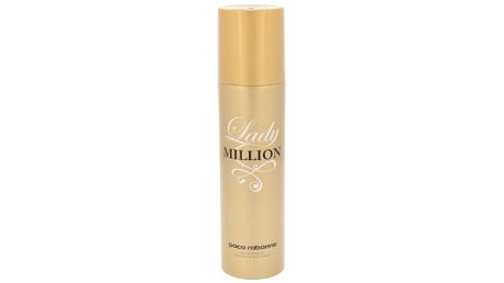 Paco Rabanne Lady Million 150 ml deodorant deospray pro ženy