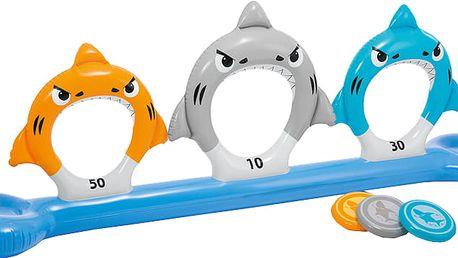 INTEX Krmení žraloků - nafukovací hra kroužky, 267x51x91cm