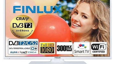 Televize Finlux 32FWB5660 bílá + Doprava zdarma