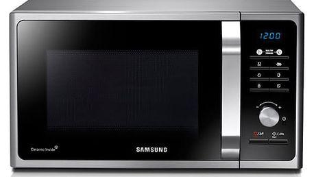 Mikrovlnná trouba Samsung Muse3 MG23F301TAS/EO černá/stříbrná + DOPRAVA ZDARMA