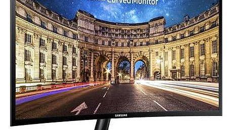 Monitor Samsung C24F390FHUX/EN (LC24F390FHUX/EN) černý + Doprava zdarma