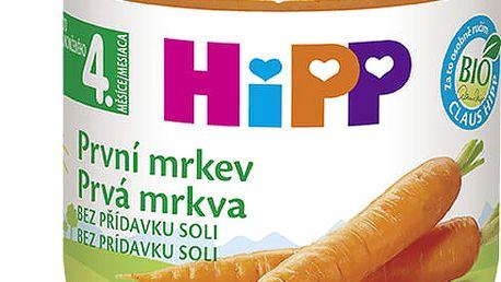 6x HIPP BIO První mrkev (125 g) - zeleninový příkrm
