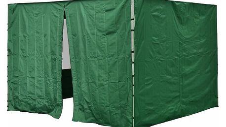 Garthen PROFI 30694 Sada 2 bočních stěn pro zahradní stan 3 x3 m zelená