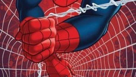 Faro Tekstylia Dětská osuška SPIDER-MAN V SÍTI 70x140 cm