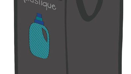 Odpadkový koš na recyklování plastu Incidence Rubbish for Recycling Plastic