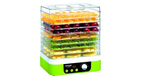 Sušička ovoce Concept SO-1060 bílá/zelená + DOPRAVA ZDARMA